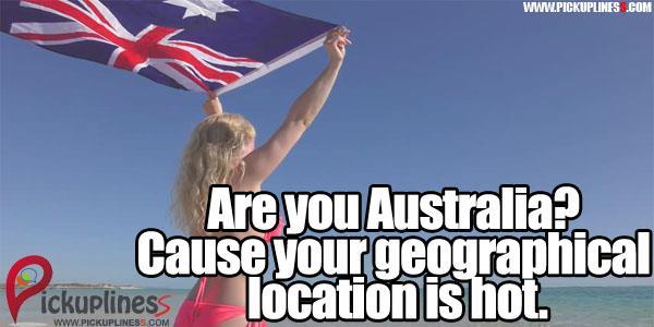 Australian Pick Up Lines