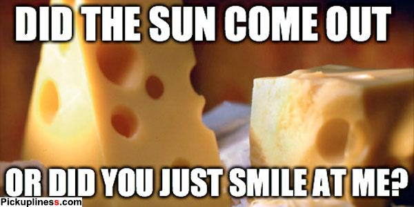 Cheesy Pick Up Lines