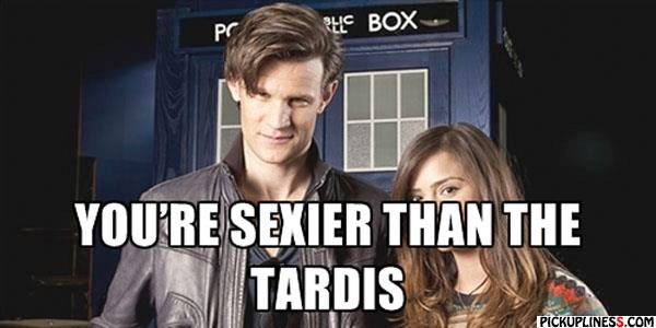 Doctor Who Pickup Lines