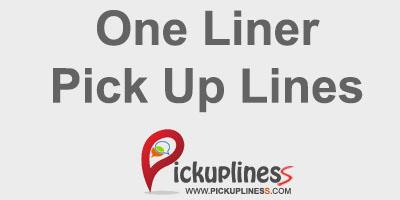 One liners Pick Up Lines